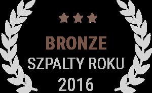 bronze szpalty